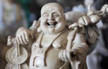 buddha, geluk gelukkig de geluksvogel
