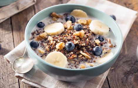 quinoa ontbijt recept geluk gezond