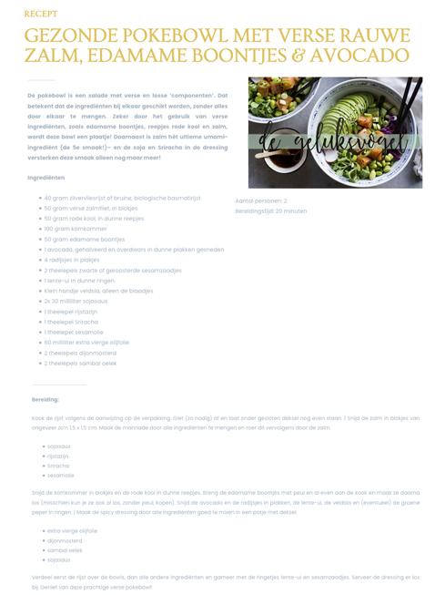 pokebowl, zalm, gezond, salade, recept, geluksvogel, geluk