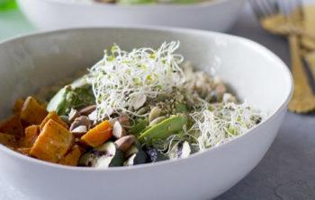 quinoa, superfood, de geluksvogel, geluk, recept