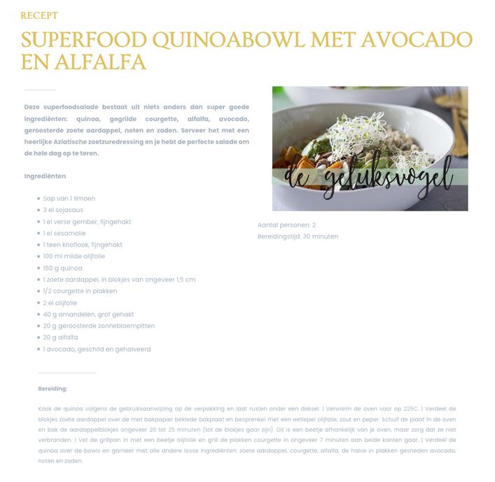 download recept quinoa superfood