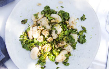 recept, limabonen, salade, geluk gelukkig de geluksvogel