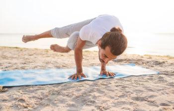 yoga de geluksvogel gelukkig