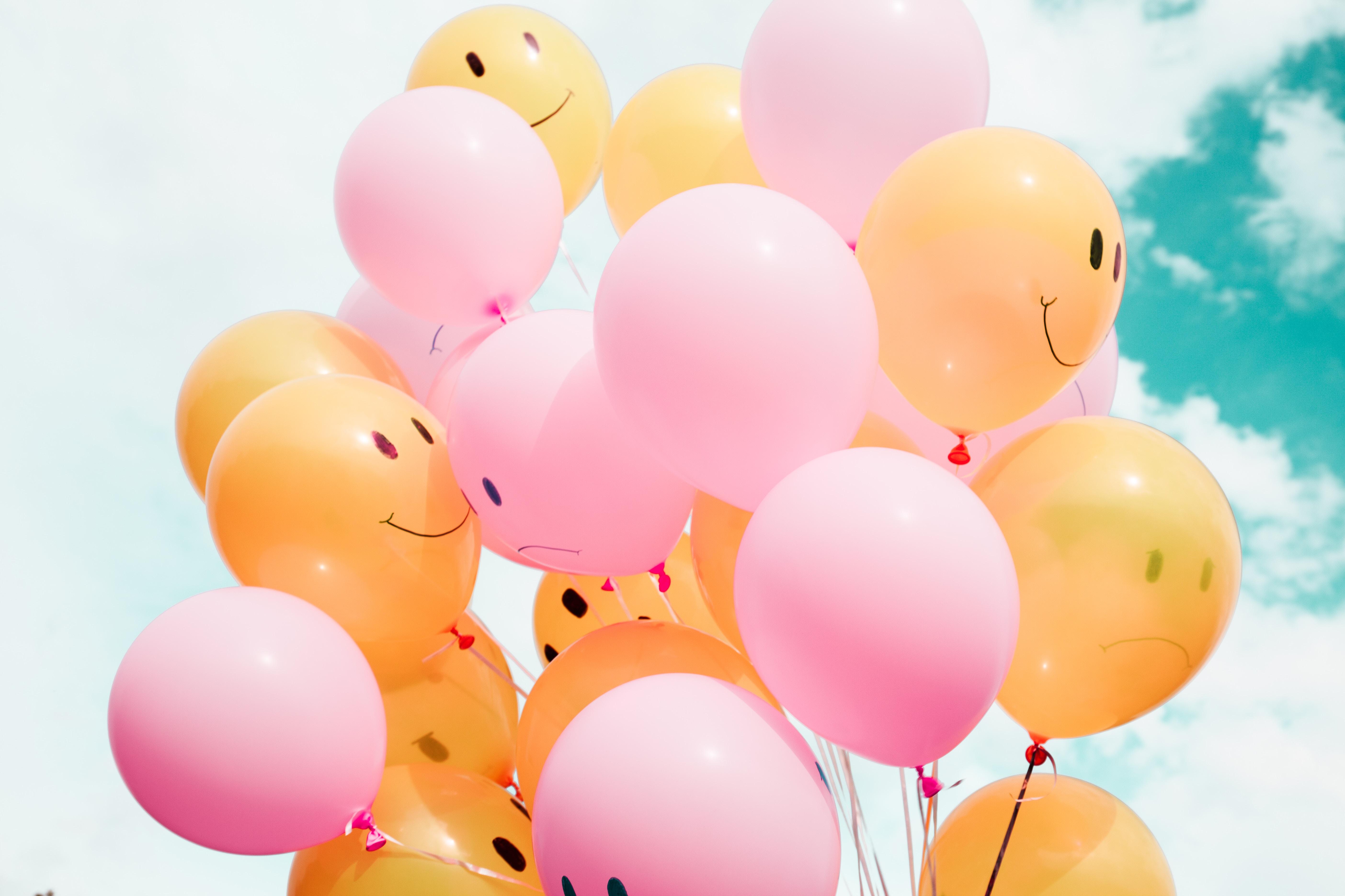geluk, gelukkig, geluksvogel, happy, ballonnen, blij lijf